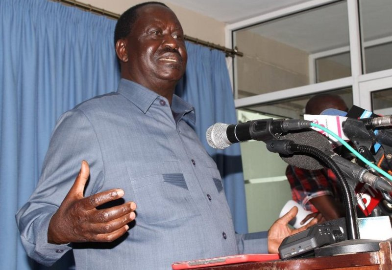 Raila highlights his focus as AU's special envoy on infrastructure development.